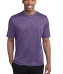 Sport-Tek ST360 Heather Contender Tee Purple Heather