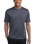 Sport-Tek ST360 Heather Contender Tee True Navy Heather