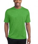 Sport-Tek ST360 Heather Contender Tee Turf Green Heather