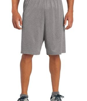 Sport-Tek ST365 Heather Contender Short Vintage Heather