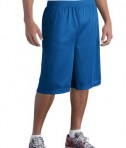 Sport-Tek ST511 Extra Long PosiCharge Classic Mesh Short True Royal
