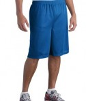 Sport-Tek ST515 Long PosiCharge Classic Mesh Short True Royal