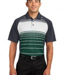 Sport-Tek ST600 Dry Zone Sublimated Stripe Polo Forest Green