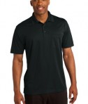 Sport-Tek ST651 Micropique Sport-Wick Pocket Polo Black