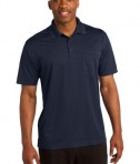 Sport-Tek ST651 Micropique Sport-Wick Pocket Polo True Navy