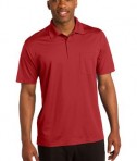 Sport-Tek ST651 Micropique Sport-Wick Pocket Polo True Red