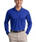 Sport-Tek ST657 Long Sleeve Micropique Sport-Wick Polo True Royal