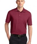 Sport-Tek ST660 Heather Contender Polo Cardinal Heather