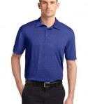 Sport-Tek ST660 Heather Contender Polo Cobalt Heather