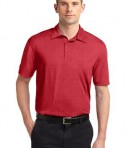 Sport-Tek ST660 Heather Contender Polo Scarlet Heather