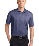 Sport-Tek ST660 Heather Contender Polo True Navy Heather