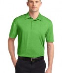 Sport-Tek ST660 Heather Contender Polo Turf Green Heather