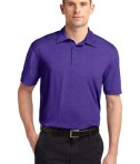 Sport-Tek ST660 Heather Contender Polo Varsity Purple Heather