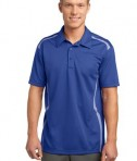 Sport-Tek ST670 Vector Sport-Wick Polo True Royal/White