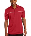 Sport-Tek ST686 PosiCharge Micro-Mesh Piped Polo True Red/White