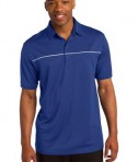 Sport-Tek ST686 PosiCharge Micro-Mesh Piped Polo True Royal/White