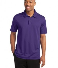 Sport-Tek ST690 PosiCharge Active Textured Polo Purple