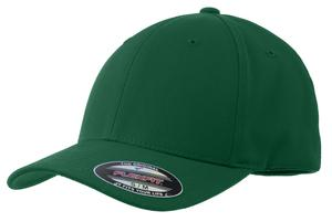 Sport-Tek STC17 Flexfit Performance Solid Cap Forest Green