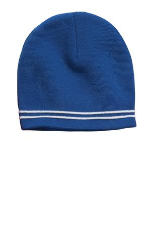 Sport-Tek STC20 Spectator Beanie True Royal/White