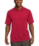 Sport-Tek T474 Dri-Mesh Pro Polo Engine Red