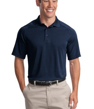 Sport-Tek T475 Dry Zone Raglan Polo True Navy