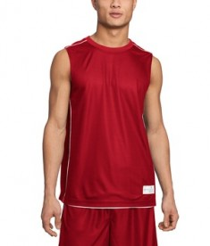 Sport-Tek T555 PosiCharge Mesh Reversible Sleeveless Tee True Red