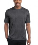 Sport-Tek ST360 Heather Contender Tee Graphite Heather