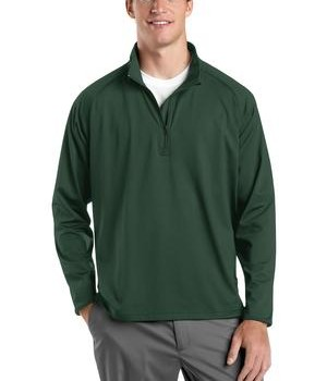 Sport-Tek ST850 Tall Sport-Wick Stretch 1/2-Zip Pullover Forest Green