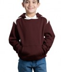 Sport-Tek Youth Pullover Hooded Sweatshirt with Contrast Color Style Y264