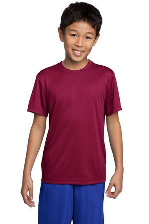 Sport-Tek YST350 Youth Competitor Tee Cardinal