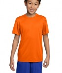 Sport-Tek YST350 Youth Competitor Tee Deep Orange