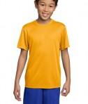 Sport-Tek YST350 Youth Competitor Tee Gold
