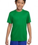 Sport-Tek YST350 Youth Competitor Tee Kelly Green