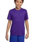 Sport-Tek YST350 Youth Competitor Tee Purple