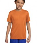 Sport-Tek YST350 Youth Competitor Tee Texas Orange