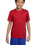 Sport-Tek YST350 Youth Competitor Tee True Red
