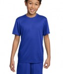 Sport-Tek YST350 Youth Competitor Tee True Royal