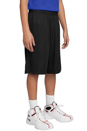 Sport-Tek YST355 Youth Competitor Short Black
