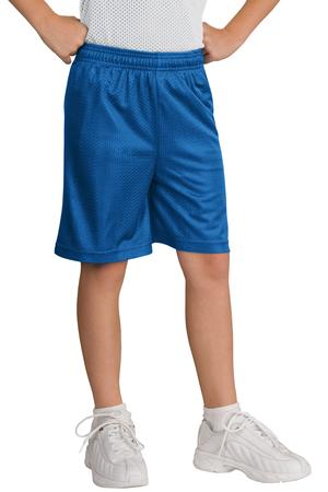 Sport-Tek YST510 Youth Classic Mesh Short True Royal