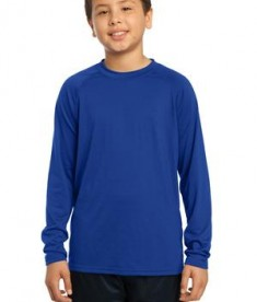 Sport-Tek YST700LS Youth Long Sleeve Ultimate Crew True Royal