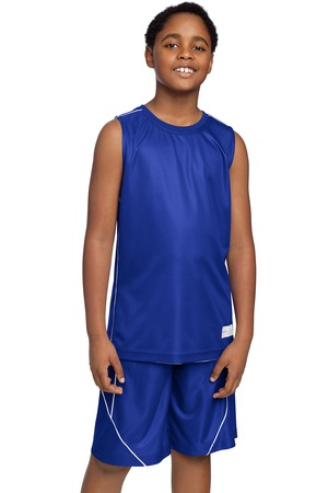 Sport-Tek YT555 Posicharge Mesh Sleeveless Tee True Royal