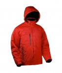 Storm Creek Men's 3-in-1 Waterproof/Breathable Seam-Sealed Parka Red/Black
