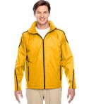 Team 365 Conquest Jacket with Fleece Lining Sport Athletic Gold