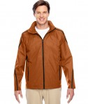 Team 365 Conquest Jacket with Fleece Lining Sport Burnt Orange