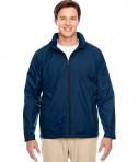 Team 365 Conquest Jacket with Fleece Lining Sport Dark Navy