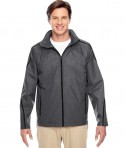 Team 365 Conquest Jacket with Fleece Lining Sport Graphite