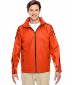 Team 365 Conquest Jacket with Fleece Lining Sport Orange