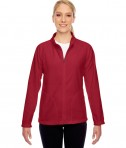 Team 365 Ladies' Campus Microfleece Jacket SP Scarlet Red