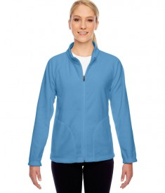 Team 365 Ladies' Campus Microfleece Jacket Sport Light Blue