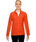 Team 365 Ladies' Campus Microfleece Jacket Sport Orange
